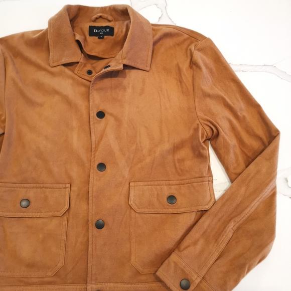 NWOT Suede jacket
